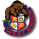 West Brook High School logo.