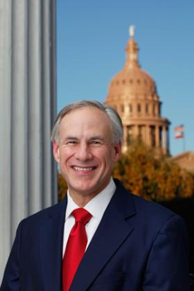 Governor Greg Abbott announces SBA loans available for state of Texas.