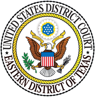 U.S. District Court Eastern District of Texas seal