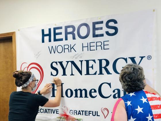 Synergy Homecare honors caregivers.