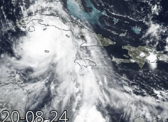 Hurricane Laura forms in Gulf